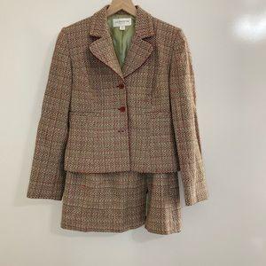 Liz Claiborne Twill Skirt Suit Size 6